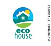 vector logo house | Shutterstock .eps vector #541600996