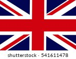 united kingdom flag... | Shutterstock . vector #541611478