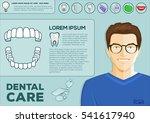 dental problem health care ... | Shutterstock .eps vector #541617940