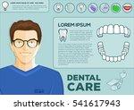 dental problem health care ... | Shutterstock .eps vector #541617943