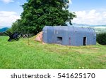Old Military Bunker On The...