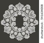 lace frame | Shutterstock .eps vector #541634008
