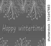 abstract zentangle inspired art ... | Shutterstock .eps vector #541647883