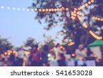 vintage tone blur image of food ... | Shutterstock . vector #541653028
