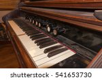 Old Keys Music Instrument With...