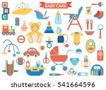 baby care supplies   big set...