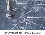 soccer   football tactics...   Shutterstock . vector #541716100