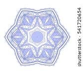 mandala. round ornament pattern.... | Shutterstock .eps vector #541720654