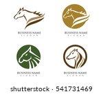 Stock vector horse logo template vector 541731469