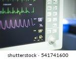 electrocardiogram in hospital... | Shutterstock . vector #541741600