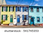 Historic Colourful Row Houses...