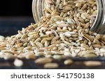 Fennel Seeds Spilling From A...