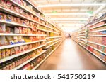 blurred selection of pasta ... | Shutterstock . vector #541750219