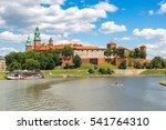 Wawel Royal Castle In Krakow I...