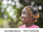 gorgeous african beauty smiling ... | Shutterstock . vector #541764328