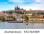 Panoramic View Of  Prague In A...