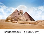 Sphinx Great Sphinx Of Egypt...