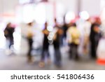 abstract blur people in party... | Shutterstock . vector #541806436