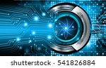 dark blue color light abstract... | Shutterstock . vector #541826884