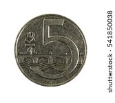Five Czech Krone Coin  1995 ...