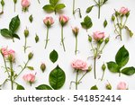 decorative pattern with light... | Shutterstock . vector #541852414