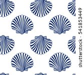 vector seamless pattern with... | Shutterstock .eps vector #541853449