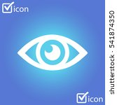eye icon. monitoring and...