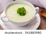 vegetarian cream soup baby... | Shutterstock . vector #541883980