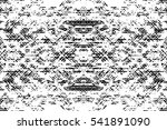 grunge black and white urban... | Shutterstock .eps vector #541891090