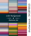 horizontal colorful stripes...   Shutterstock .eps vector #541893013