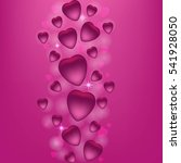 valentine's day vector... | Shutterstock .eps vector #541928050