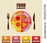 infographic presentation of... | Shutterstock .eps vector #541931740