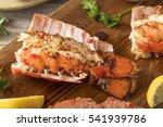Seasoned Baked Lobster Tails...