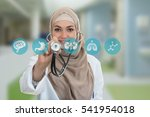 close up portrait of arab... | Shutterstock . vector #541954018