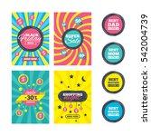 sale website banner templates.... | Shutterstock . vector #542004739