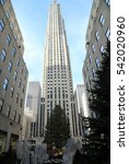 new york city  december 15 ... | Shutterstock . vector #542020960