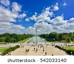 lincoln memorial washington dc | Shutterstock . vector #542033140