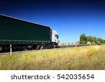 truck on the road | Shutterstock . vector #542035654