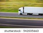 truck transportation   Shutterstock . vector #542035663