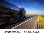 truck transportation   Shutterstock . vector #542035666