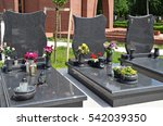 Small photo of Tombstones in the public cemetery