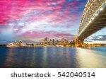 sydney  australia. amazing...   Shutterstock . vector #542040514