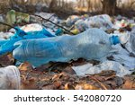 pile of plastic bags and other... | Shutterstock . vector #542080720