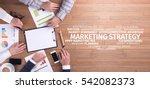 business concept  marketing... | Shutterstock . vector #542082373