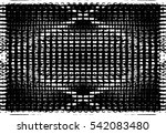 grunge black and white urban... | Shutterstock .eps vector #542083480