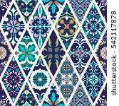 beautiful mega patchwork... | Shutterstock . vector #542117878