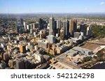 Melbourne Skyline From Bird's...