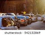 cars traffic closeup. urban...   Shutterstock . vector #542132869