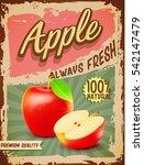 apple vintage banner | Shutterstock .eps vector #542147479