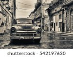 havana  cuba  dec 1  2016 ... | Shutterstock . vector #542197630